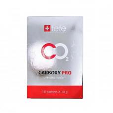 TETE Cosmeceutical. CARBOXY PRO. Одношаговая карбокси-терапия (10 саше Х 10 г)