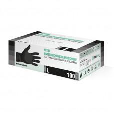 SF GLOVES, Нитриловые перчатки, черные, размер «S» 100 шт/упак.