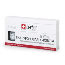 TETE Cosmeceuticals. ГИАЛУРОНОВАЯ КИСЛОТА 100%. Сыворотка 3 х10 мл