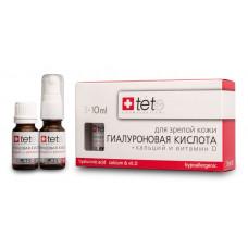TETE Cosmeceuticals. Гиалуроновая кислота + ВИТАМИН D. Сыворотка 3х10 мл