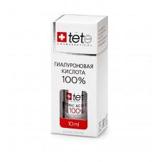 TETE Cosmeceuticals. ГИАЛУРОНОВАЯ КИСЛОТА 100%. Сыворотка MINI 10 мл