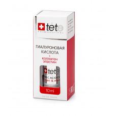 TETE Cosmeceuticals. Гиалуроновая кислота + КОЛЛАГЕН + ЭЛАСТИН. Сыворотка MINI 10 мл