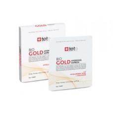 TETE. Коллагеновые маски с коллоидным золотом / BIO Gold Collagen Mask/ 4 шт