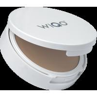 WiQo® Компактный ICP крем-сорбет SPF 50+ LIGHT с тонирующим эффектом, Тон СВЕТЛЫЙ,  кушон с зеркалом