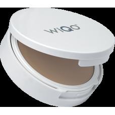 WiQo® Компактный ICP крем-сорбет SPF 50+ ULTRA LIGHT с тонирующим эффектом, Тон УЛЬТРА-СВЕТЛЫЙ,  кушон с зеркалом